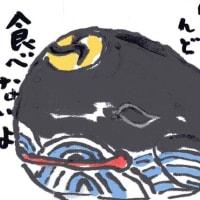 「絵手紙もらいました―貯金箱・クジラ―」について考える