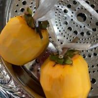 干し柿作りました!