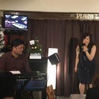 12月28日(土)の午後は、由子(vo)さんのライブでした!
