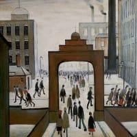 写真を上回る絵画の力:L.S.ラウリーの世界