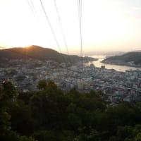 千光寺からの日の出