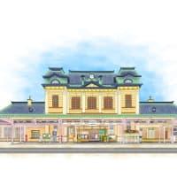 旧門司港駅のイラスト(完成)