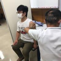 新型コロナワクチンの職域接種実施