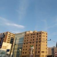 本日なんば上空壮絶地震雲。連日驚異の地震雲が出ています。必ず大きな地震が来ます。