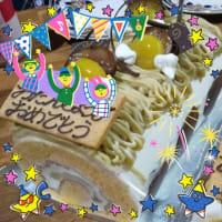 18cmのロールケーキ