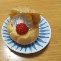 ファミリーマート・いちごのシュークリーム