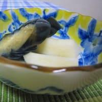 「秋の味覚で夕餉・栗ご飯」