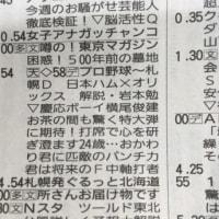 ラテ欄縦読み(続きその2)