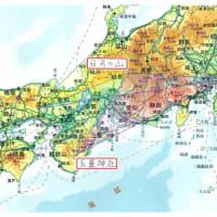 早川町(山梨県)の人面岩は、大事な場所であることを教えている