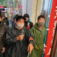 外国人労働者アミンさんの労災隠し問題でピーエス三菱に抗議行動