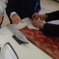 放課後学習 成器塾 手芸教室でポケットティッシュケース完成、手縫いマスク作り