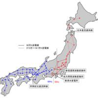 計画停電と電源サイクルの不統一の日本