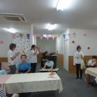 誕生日会(7・8・9月生れ)