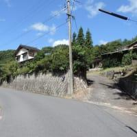 渡ノ瀬ダム湖畔の集落