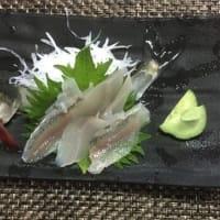ヤナの鮎料理 (森田)