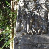 弘法大師廟と景教碑