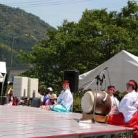 第2回物部川こども祭 ステージの部・・・こどもいざなぎ流舞神楽