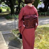 秋晴れの中、東京国立博物館 応挙館へ