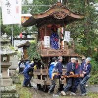 上生坂日置神社の秋季祭典昼祭り