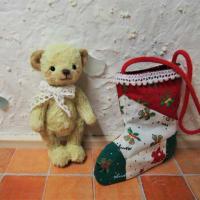 クリスマスの靴下ベア