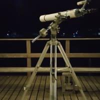 奈良・吉野・・・・三奇楼デッキで夜空を眺めながら「星空同好会」で奇跡と必然に出会う夜・・・大気・空気が澄む奇跡の連鎖のお話しも。