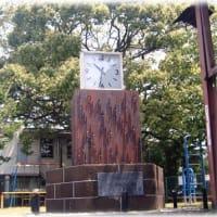 時の記念日(^^♪高槻市真上町2丁目にある公民館前の「真上時計台」