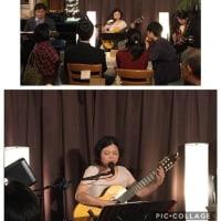 11月30日(土)の夜は、伊部百合子(vo,gt)さんのライブでした!