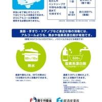 新型コロナウイルス対策(厚生労働省)