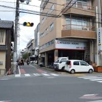 まち歩き下1233 京の通り 麩屋町通 NO12 高辻通 北方向を見る