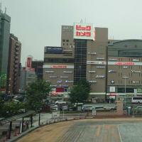 名古屋を出ました。