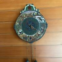 食堂の振り子時計