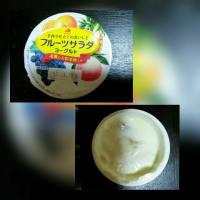 北海道乳業のフルーツサラダヨーグルト