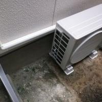 蕨市で新規エアコン取り付け工事