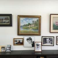 緑の館仙台・絵画展示室の癒しの空間に「ムーン リバー」 No.275