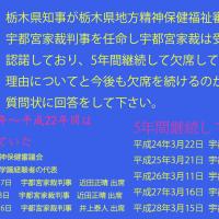 宇都宮家裁判事・調停員に不平・不満