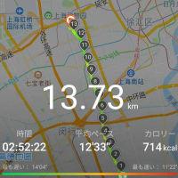 12月30日㈪散歩のお供に最新ヒットが流れないお年頃 #上海 #散歩