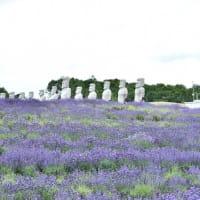 北海道のモアイ像