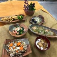 秋の料理教室