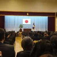 今日は長女の高等学校入学式に行って来ました!