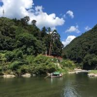 観光・保津川下りの発祥の地・京都亀岡・山本浜