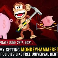 カリフォルニア州で発表された無料ユニバーサル・レントのような非常識な政策によって、米国経済は猿攻撃されるだろう Mike Adams