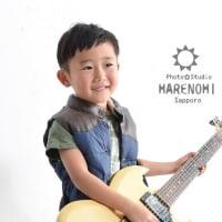 9/10 楽器と写真 自由な撮影スタジオ♫ 札幌写真館ハレノヒ