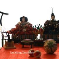 雛祭りの茶席