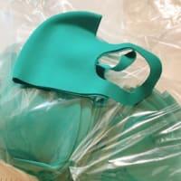 緑のマスク
