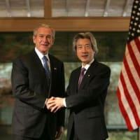 小泉純一郎はジョージ・ウォーカー・ブッシュ元大統領の犯罪を補佐した生き証人だから、グアンタナモ米軍基地の第7キャンプから移動させられた!!