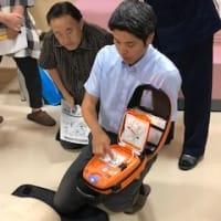 全体会議~AED研修~
