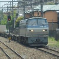 EF66-122 【西国分寺駅:武蔵野線】 2021.APR