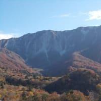 豪円山からの大山の眺望