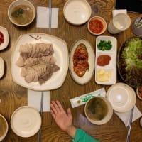 ソウル旅行 西大門栄養豚足 ソデムンヨンヤンチョッパルで夕ご飯