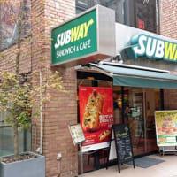 「Subway」でランチ